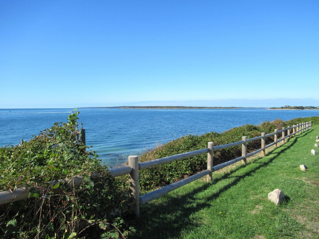 Stunning view from the Falmouth Road Race route