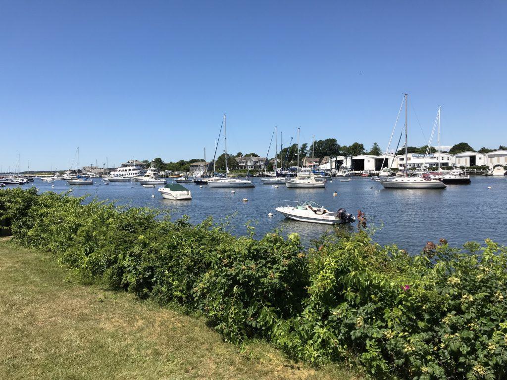 Boats at Falmouth Harbor