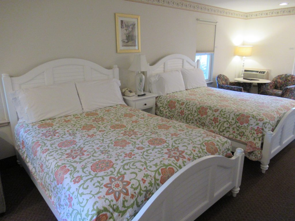Harbor House room with two queen size beds